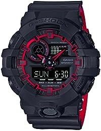 GA700SE-1A4 Black 53.4mm Resin G-Shock GA-700 Men's Watch