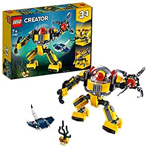 LEGO Creator 3in1 Underwater Robot 31090 Creative Building Toy