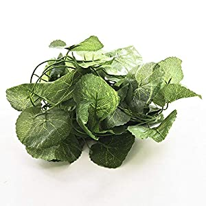 Bright Sun Green and Fresh Artificial Plastic Begonia Leaf Garlands Plants Vine Foliage Flowers #SVTY 96