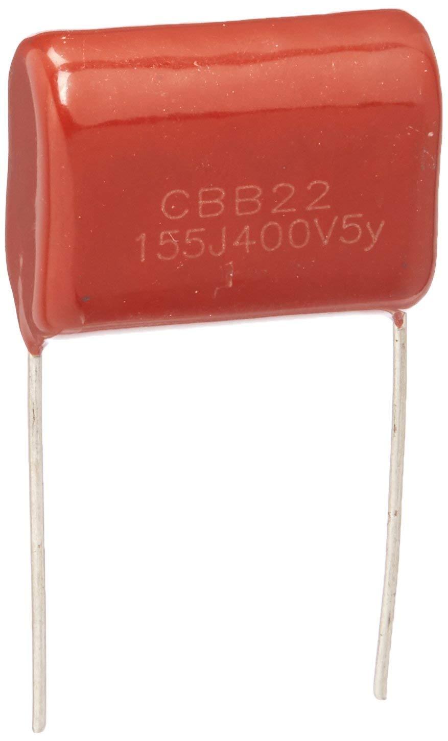 a14101300ux0563 10 Piece 1.5uF CBB22 400V Through Hole Polypropylene Film Capacitors