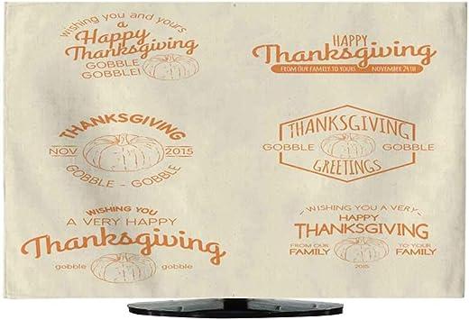 Cobertor de TV para Interiores, diseño de Pavo de Dibujos Animados Retro 30/32: Amazon.es: Electrónica