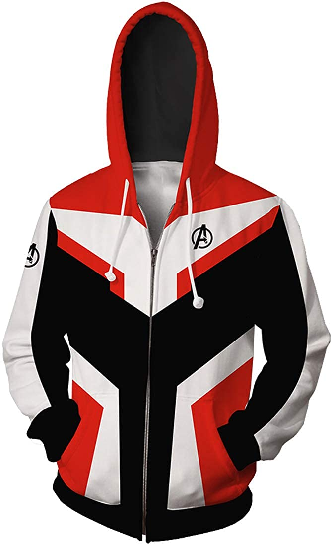 FLYCHEN Herren Pullover mit Avengers League Super Hero Uniform Super Mann Sweatshirts