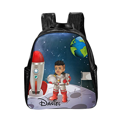 Toddler Backpack For Boys Astronaut African American Kids Backpacks School Bag by Brownkidswag