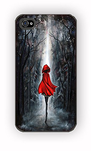 The Little Red Riding Hood for iPhone 4/4S Case