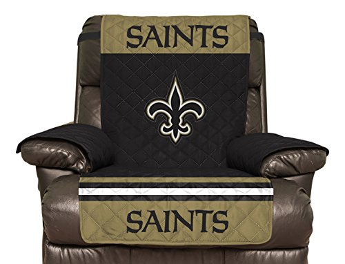 (click photo to check price). 1. NFL New Orleans Saints Recliner Reversible ...  sc 1 st  Sports World Report & Top Best 5 new orleans saints recliner cover for sale 2016 ... islam-shia.org
