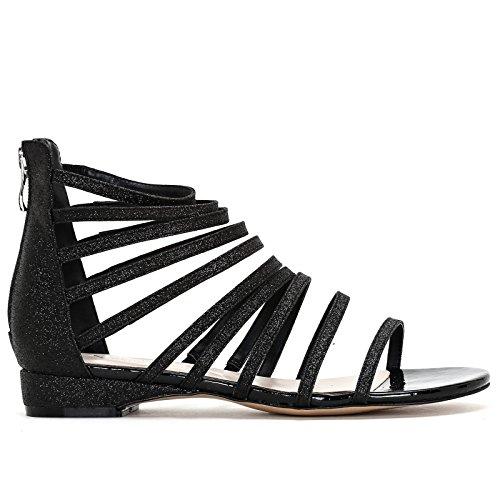 Donna Alesya Scarpe Bassi Expa5q0w5 Sandali Nero Amp;scarpe AR5q43jL
