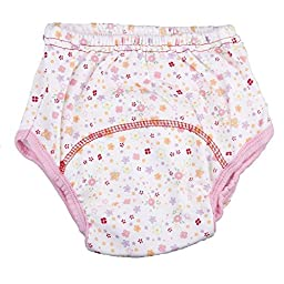 Jojobaby 3pcs Baby Girl Infant Kids Training Pants Cloth Underwear Nappy (Large)