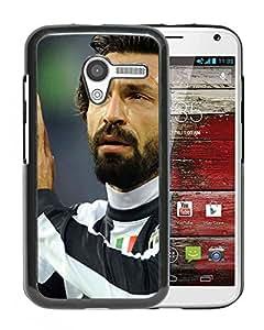 Juventus Andrea Pirlo Durable High Quality Motorola Moto X Phone Case