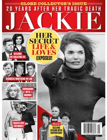 Jackie Her Secret Life & Loves : 20 Years After Her Tragic Death