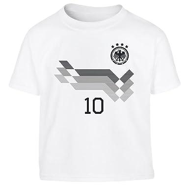 Deutschland Trikot Kinder Mit Eigenem Namen Kleinkind Kinder T Shirt