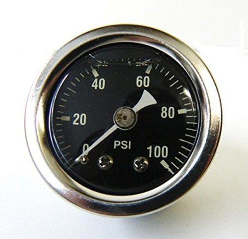 Oil Gauge Fitting (Mid-USA 100 PSI Oil Pressure Gauge 1/8