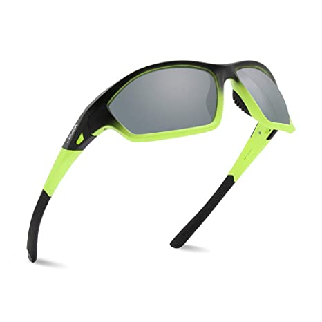 a195d95a50e JOJEN Polarized Sports Sunglasses for Men Women Running Cycling Fishing  Hunting Golf Tr90 Ultralight Unbreakable Frame