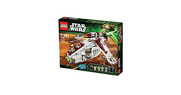 Six NEW  Set of  6 Lego Legos Pack  of 4 x 4 Plates  Green Star Wars