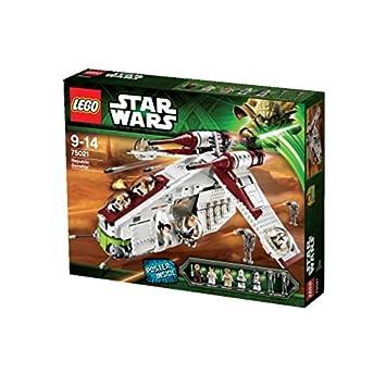 Amazoncom Lego Star Wars Republic Gunship 75021 Discontinued By