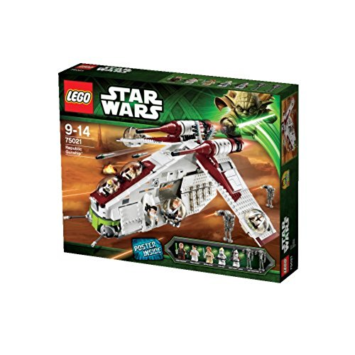 LEGO Star Wars Republic Gunship (75021) (Discontinued by manufacturer) (Lego Wars Clone Sets Wars Star)