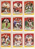 Kansas City Chiefs 1990 Fleer Football Team Set w/ Update Cards (Christian Okoye) (Derrick Thomas) (Steve DeBerg) (Nick Lowery)