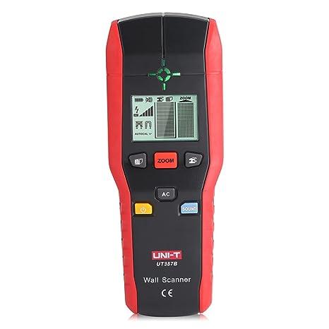 Fdit Detector de Pared Profesional Buscador Detector de Mano Digital Madera Cable de Metal de CA