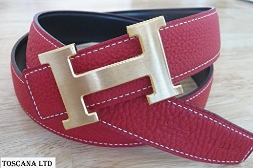 Sports Hermes Belt Red - Hermes Mens Belt Original