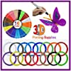 3IDEA 3D Pen Printer Filament - 16 Colors 1.75mm PLA Refills Pack - Each Color 5M Length - DIY 3D Artist Supply Accessories for Creative Hobbies