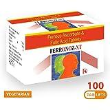 Carbamide Forte Novus Health Supplements Iron + Vitamin C + Folic Acid (100 Tablets)
