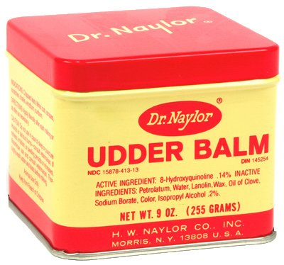Price comparison product image H W Naylor UB9 Cow Udder Balm, 9-oz. - Quantity 6