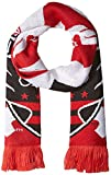united 1st - adidas MLS D.C. United 1st Kick Jersey Hook Jacquard Scarf, One Size, Red