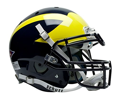 (Schutt Sports Authentic Game-Day Michigan Wolverines Football Helmet, Classic)