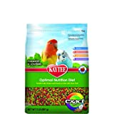 Kaytee Exact Fruity Rainbow Bird Food for Parakeets, 2-Pound