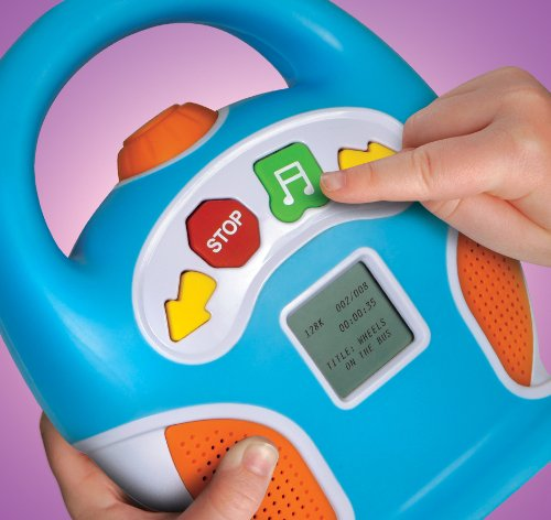 Discovery Kids 256MB Kids Digital Boombox MP3 Player by Discovery (Image #3)
