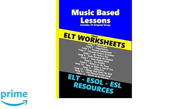 Amazon Elt Worksheets Music Book Volume 1 9781541354128