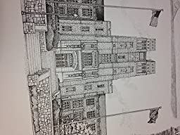 Virginia Tech 16x20 pen and ink collage print