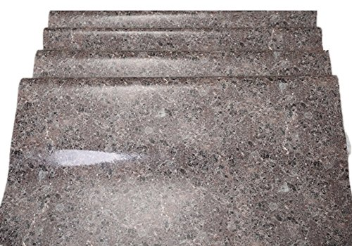 Best Glue For Stone : Brown granite look marble gloss film vinyl self adhesive