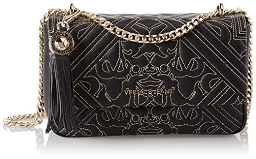 Versace EE1VSBBZ6 EM27 Black/Gold Shoulder Bag for Womens