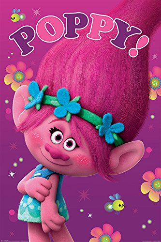 Trolls Princess Poppy Movie Poster