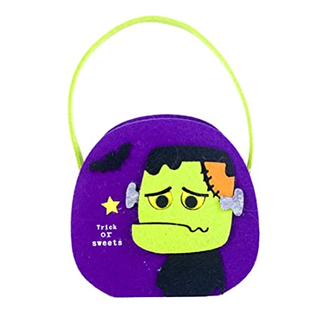 XUELIEE 2 Bolsas de Caramelos para Halloween, Truco o ...
