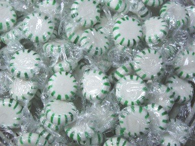 (YANKEETRADERS Spearmint Starlight Mints - 2 Lbs)