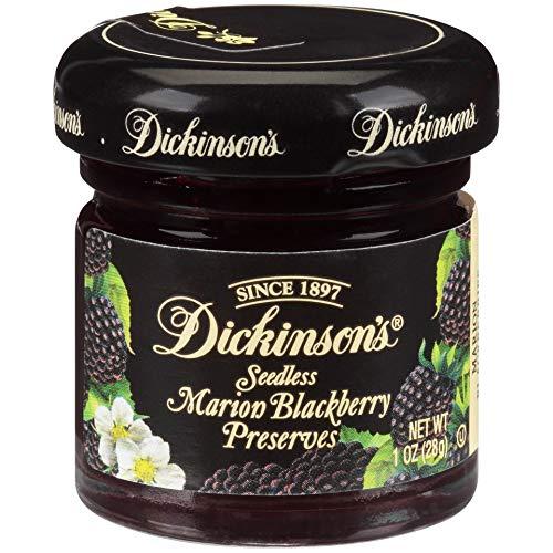 Dickinson's Seedless Marion Blackberry Preserves, 1 Ounce (Pack of 72)