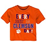 Gen 2 NCAA Clemson Tigers Infant Everyday Short Sleeve Tee, 18 Months, Orange