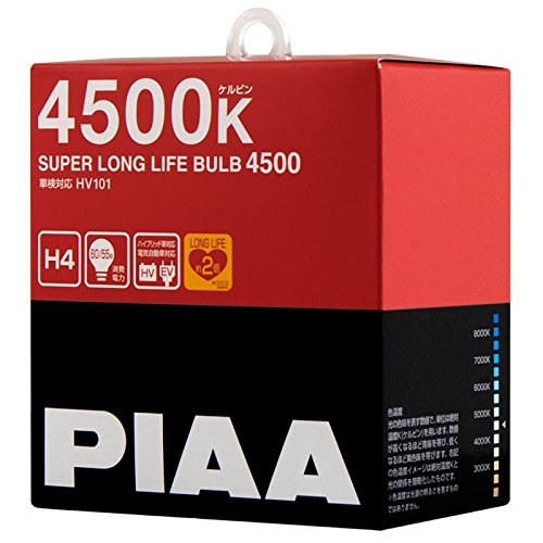 PIAA halogen bulb [Super Long Life 4500K] H4 12V60 / 55W 2 pieces HV101