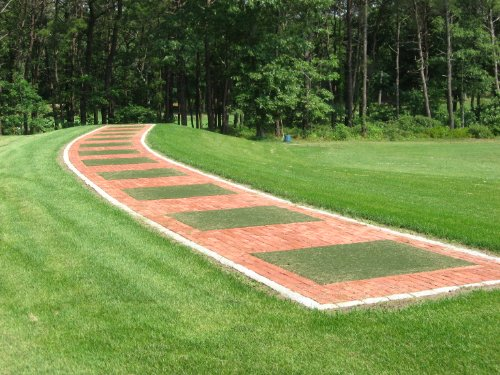 Country Club Elite Real Feel Golf Mat 4' X 5' by Real Feel Golf Mats (Image #7)