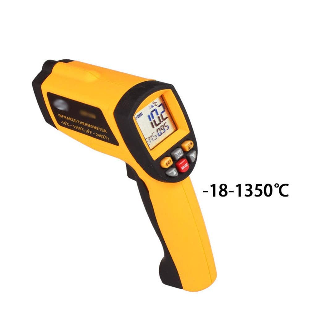 MATCHANT Non-Contact Digital Thermometer Thermometer Handheld Infrared Thermometer -18~1350 °C (Color