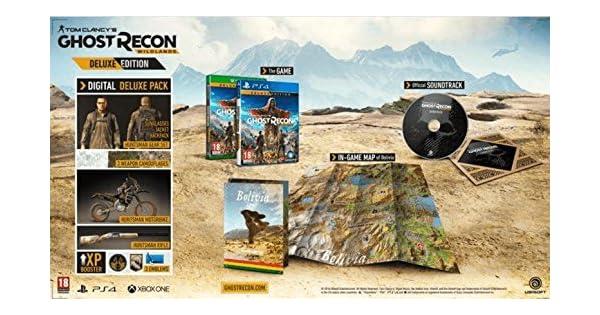 Tom Clancys Ghost Recon: Wildlands (Deluxe Edition) (Xbox One ...