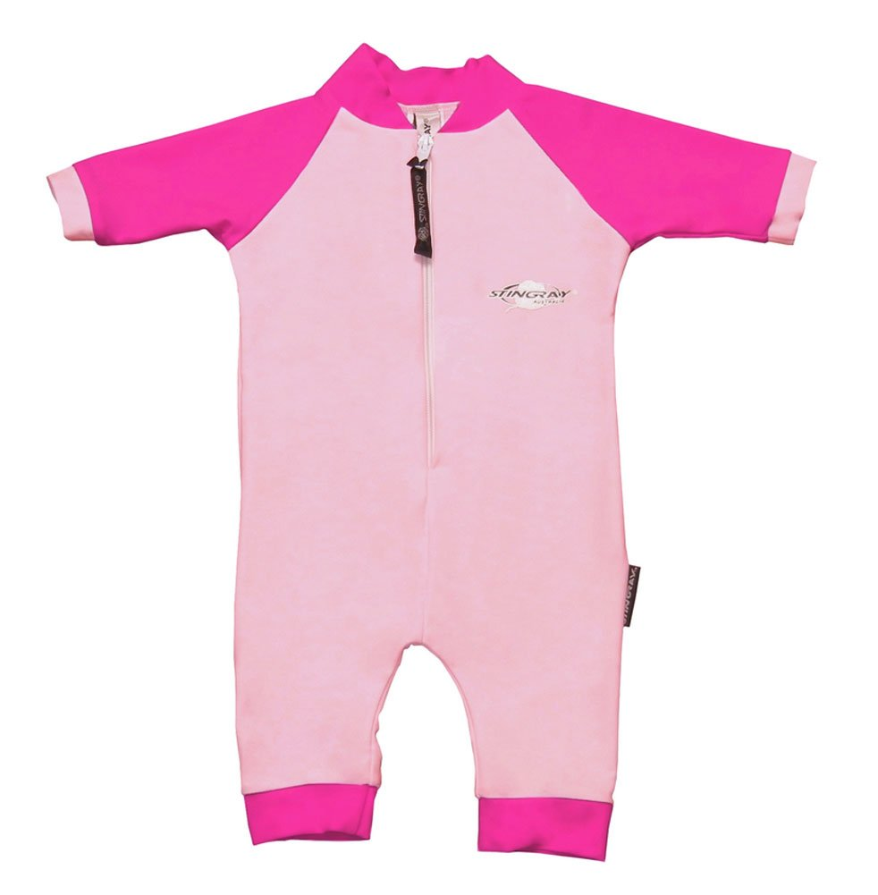 Stingray Australia Baby UV Sun Protection Romper Bathing Suit-Pink Size 1 ST2000-LP