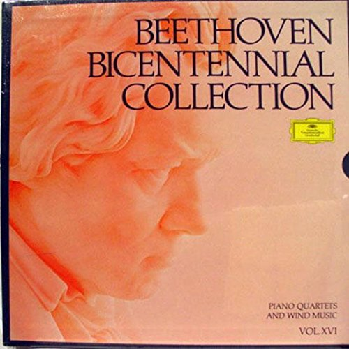 Beethoven Bicentennial Collection: Piano Quartets and Wind Music (Vol. XVI)