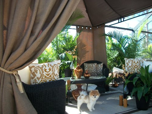 Patio Pizazz, Beautiful Indoor Outdoor Patio Drapes, Gazebo, Pergola, (54