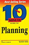 img - for 10 Minute Guide to Planning (10 Minute Guides) book / textbook / text book