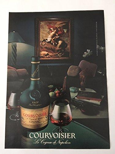 1984 Courvoisier Le Cognac de Napoleon Magazine Print Advertisement ()