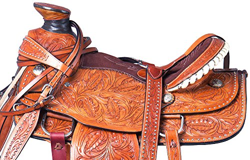 Western Roping Saddle Set - 2