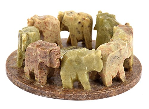 India Elephant Circle Incense & Cone Burner, 4
