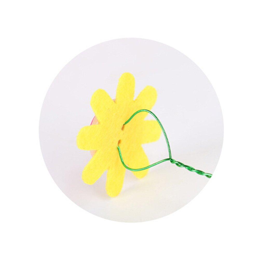 TOYMYTOY Ramo de Flores de Botón Flores Hechas a Mano Juguetes Educativos (Five-petaled Flowers): Amazon.es: Juguetes y juegos